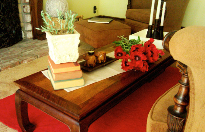 Baker coffee table by Michael Taylor