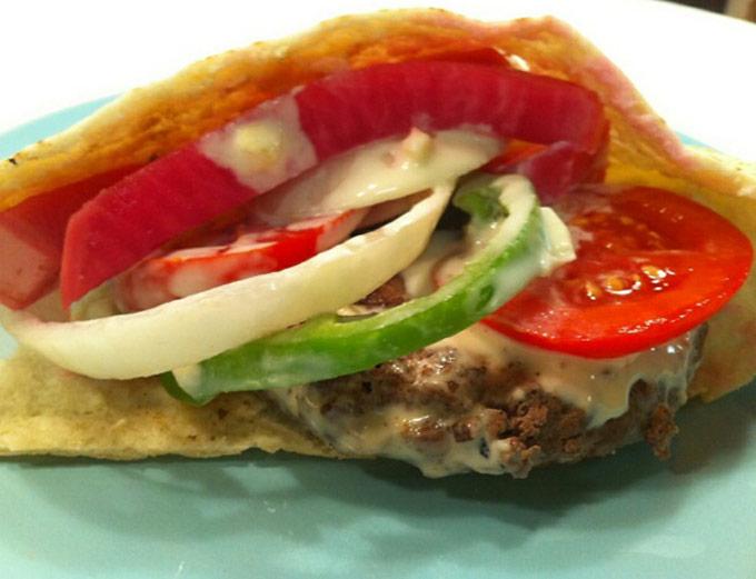 Tahini Burger