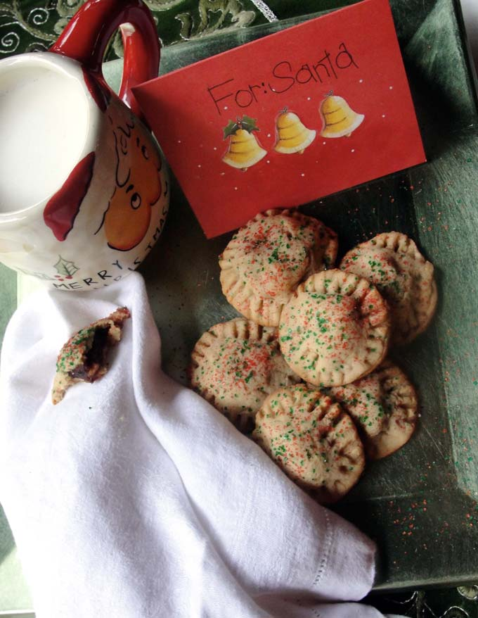 Evelynne Trick's date-filled cookies